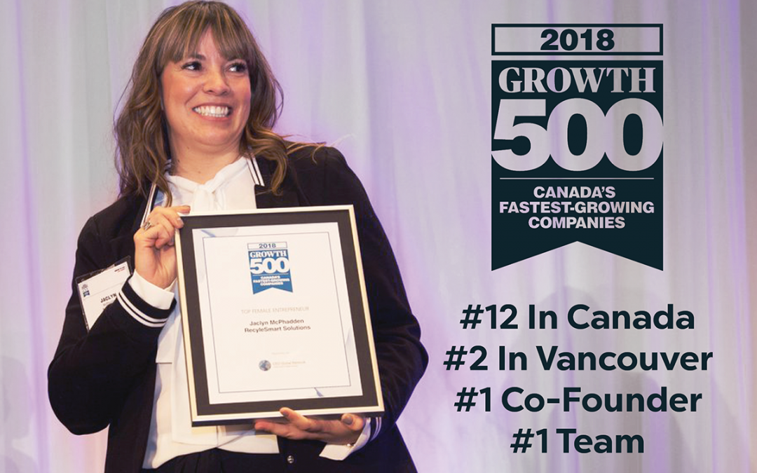 Growth 500 Female Entrepreneur of the Year 2018