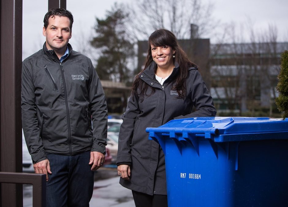 RecycleSmart moves old-fashioned trash pickup into the tech century