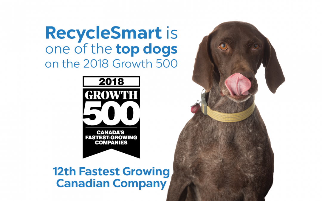 RecycleSmart Ranks 12th on the 2018 Growth 500
