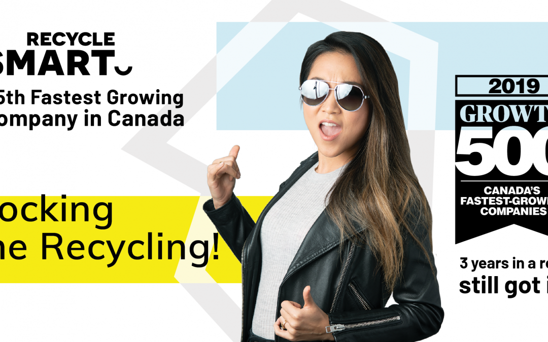 RecycleSmart Ranks No. 25 on the 2019 Growth 500