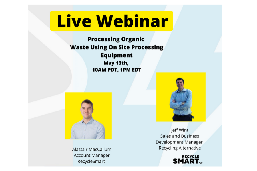 On Site Organic Waste Processing Webinar