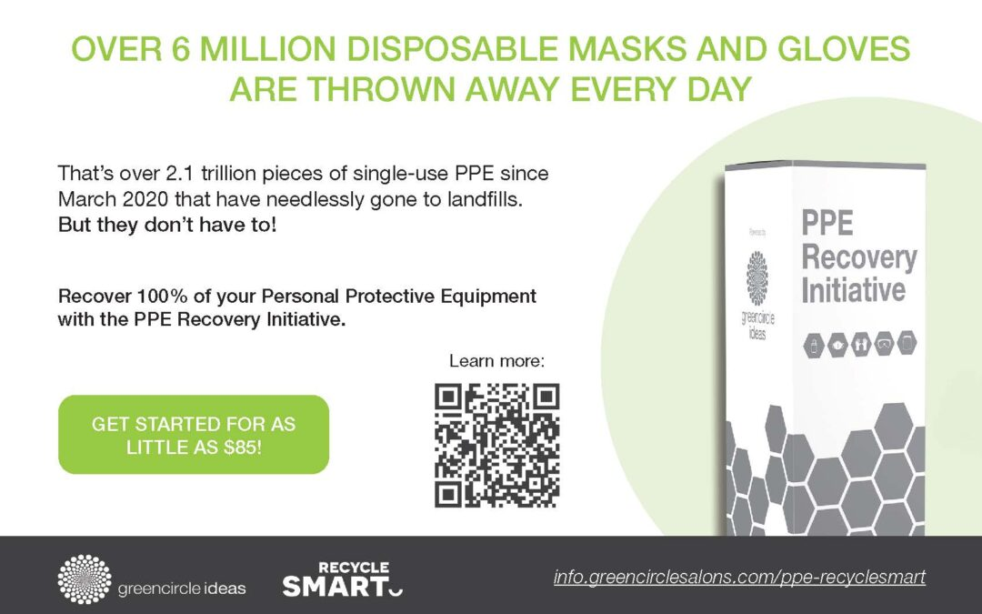 RecycleSmart Partners with Green Circle Ideas to Launch the PPE Recovery Initiative!