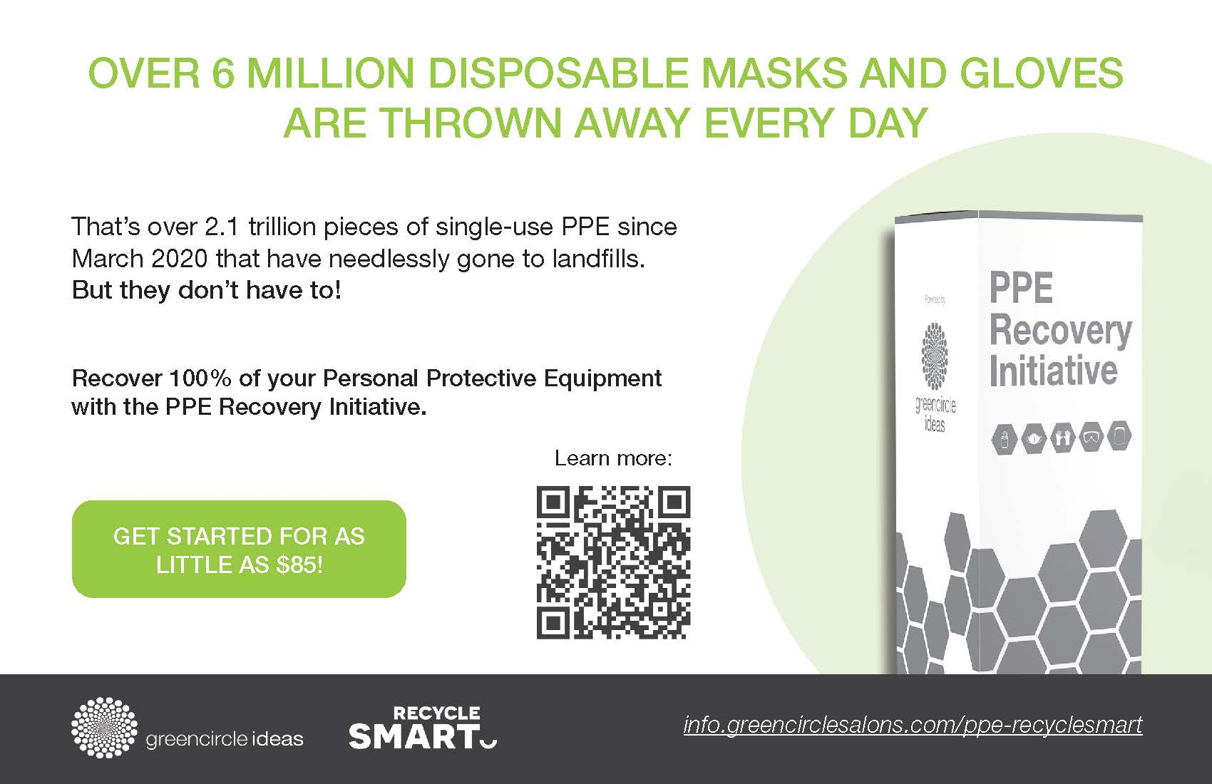 RecycleSmart-GreenCircle-PPE Recovery Initiative