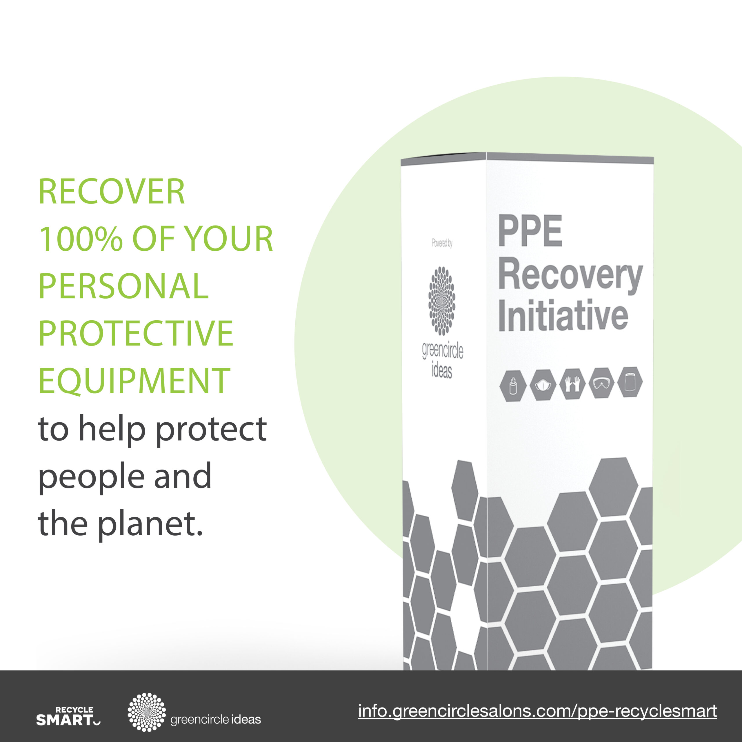 RecycleSmart and Green Circle Partner to bring you the PPE Recovery Initiative