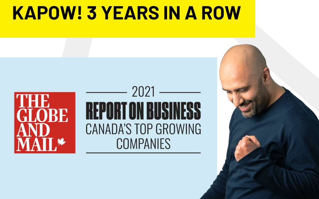 RecycleSmart Recognized by The Globe and Mail as one of Canada's Top Growing Companies for the 3rd Consecutive Year.